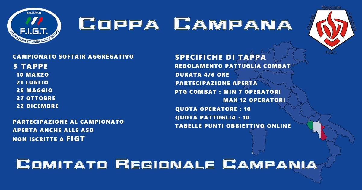 Calendario Regione Campania.Calendario Coppa Campania 2019 Figt Asnwg